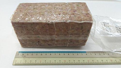 飛騨山椒入角型ソーセージ 900g(長15×高さ7cm)業務用 フリーカット 冷凍