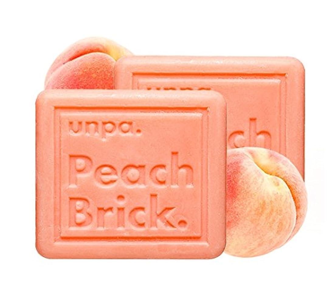 スキニー実業家サークルunpa ピッチ?ブリック?トンアップ?ソープ(Peach Brick Tone-Up Soap)