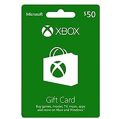 XBOX GIFT CARD $50 (輸入版:北米)