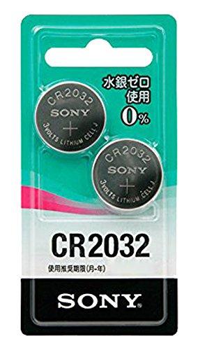 ソニー SONY リチウムコイン電池 CR2032 水銀ゼロシリーズ CR2032-2ECO : 2個入 CR2032-2ECO