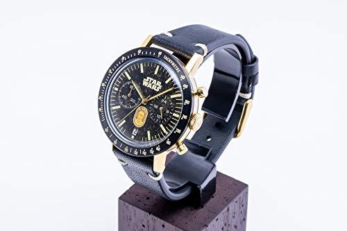 [アンダーン] 腕時計 スター・ウォーズ C-3PO アマゾン限定 SW-AL001 ブラック