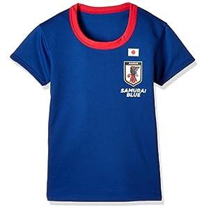 [バンダイ]サッカー日本代表半袖丸首Tシャツ ボーイズ ブルー 日本 120cm (日本サイズ120 相当)