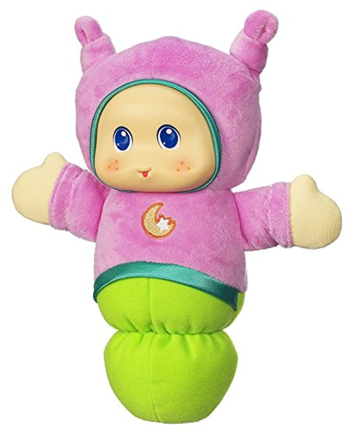 Hasbro Playskool Lullaby Gloworm Girl Pink/Green [並行輸入品]