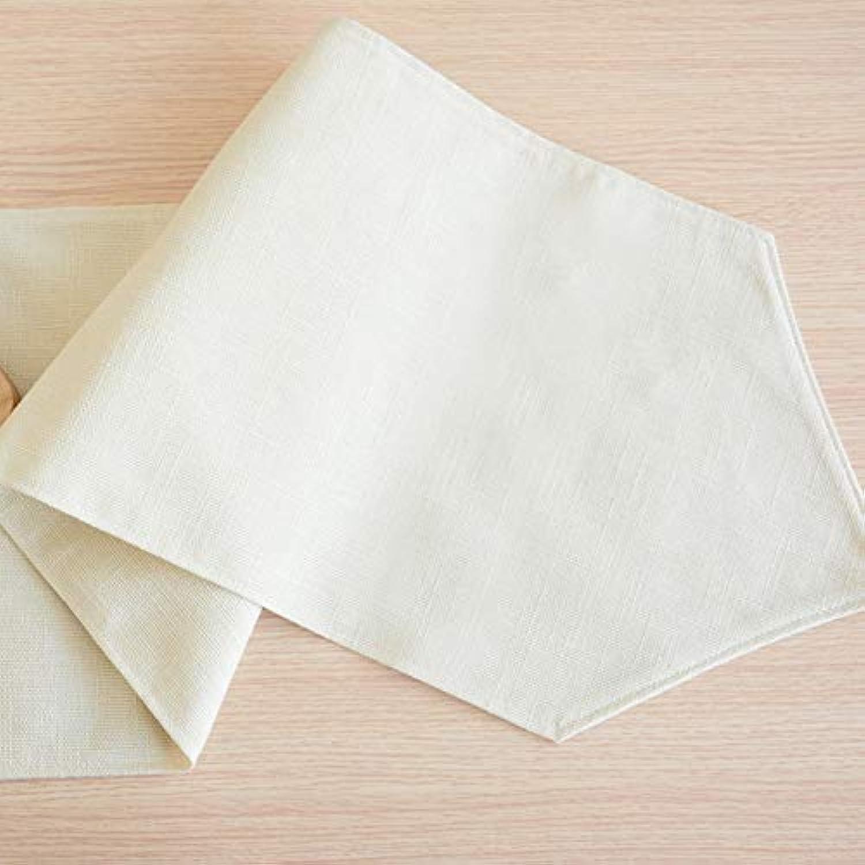 テーブルランナー ホームデコレーション 北欧 シンプル 工芸品 おしゃれ 長方形 エレガント 30*120/180/210cm (Color : White, Size : 30*180cm)
