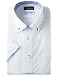 [ピーエスエフエー] P.S.FAI-Shirt 完全ノーアイロン スリムモデル 半袖クレリックアイシャツ P162170064