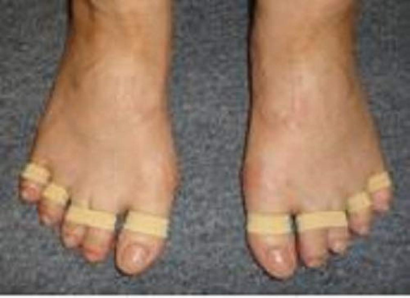 パフ馬鹿げたブラスト足ゆびバランスパッド(第5趾小指用)45