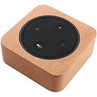 Zenfeel amazon Echo Dot 専用 スタンド 木製 卓上ホルダー 充電スタンド 保護カバー ケース アレクサカバー エコードット Alexa スピーカー台
