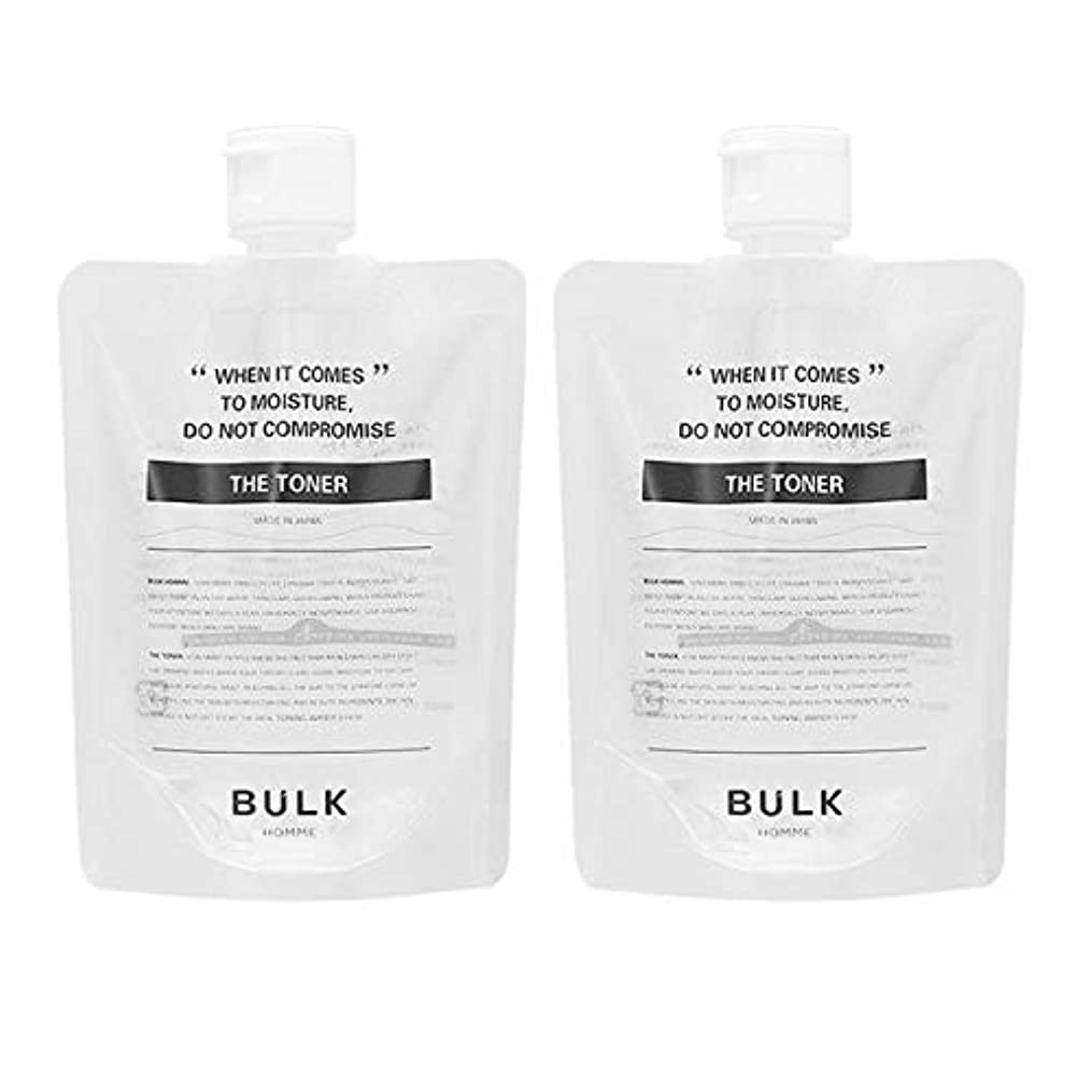 誘発する息を切らして不条理【セット】バルクオム BULK HOMME ザ トナー 化粧水 200mL 2個セット [並行輸入品]