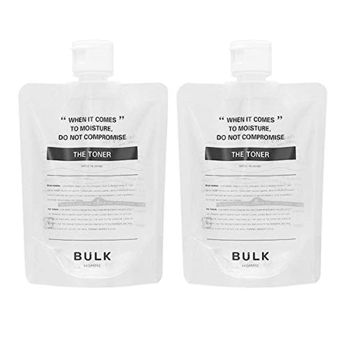 すきばかげた幸運な【セット】バルクオム BULK HOMME ザ トナー 化粧水 200mL 2個セット [並行輸入品]