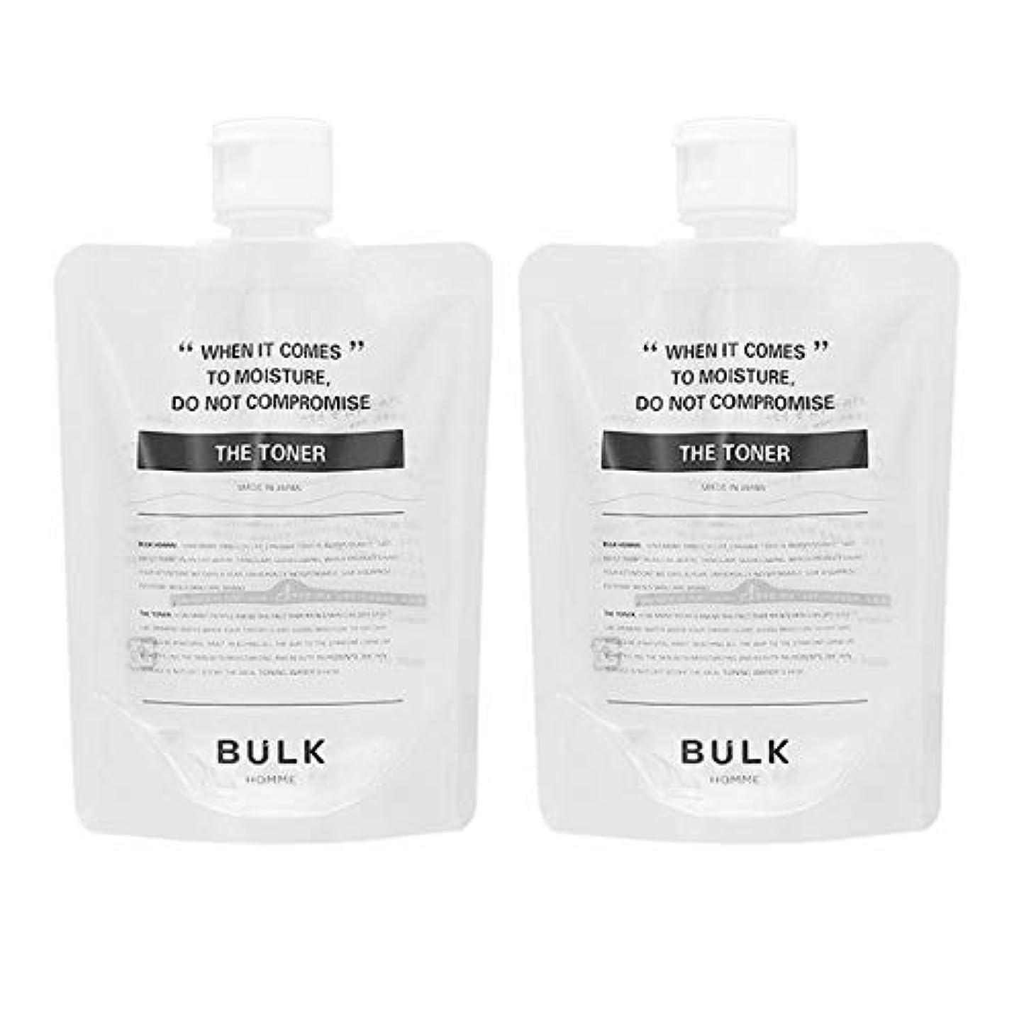 瞬時にがんばり続ける退屈させる【セット】バルクオム BULK HOMME ザ トナー 化粧水 200mL 2個セット [並行輸入品]