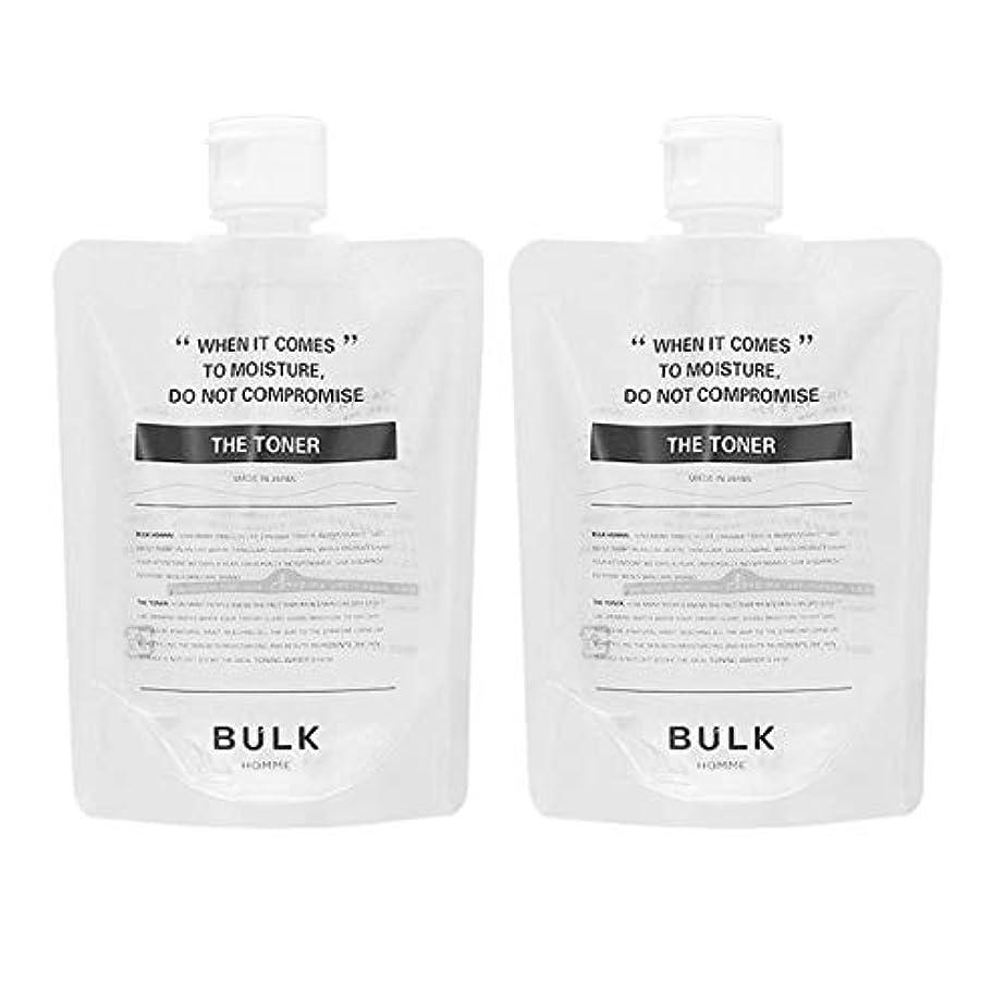 一貫性のない医療の因子【セット】バルクオム BULK HOMME ザ トナー 化粧水 200mL 2個セット [並行輸入品]