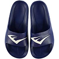 Official Brand Everlast Sliders Pool Shoes Juniors Boys Blue Sandals Flip Flop Beach Shoes