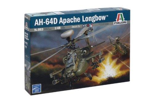 イタレリ 863 1/48 AH-64D ロングボウアパッチ