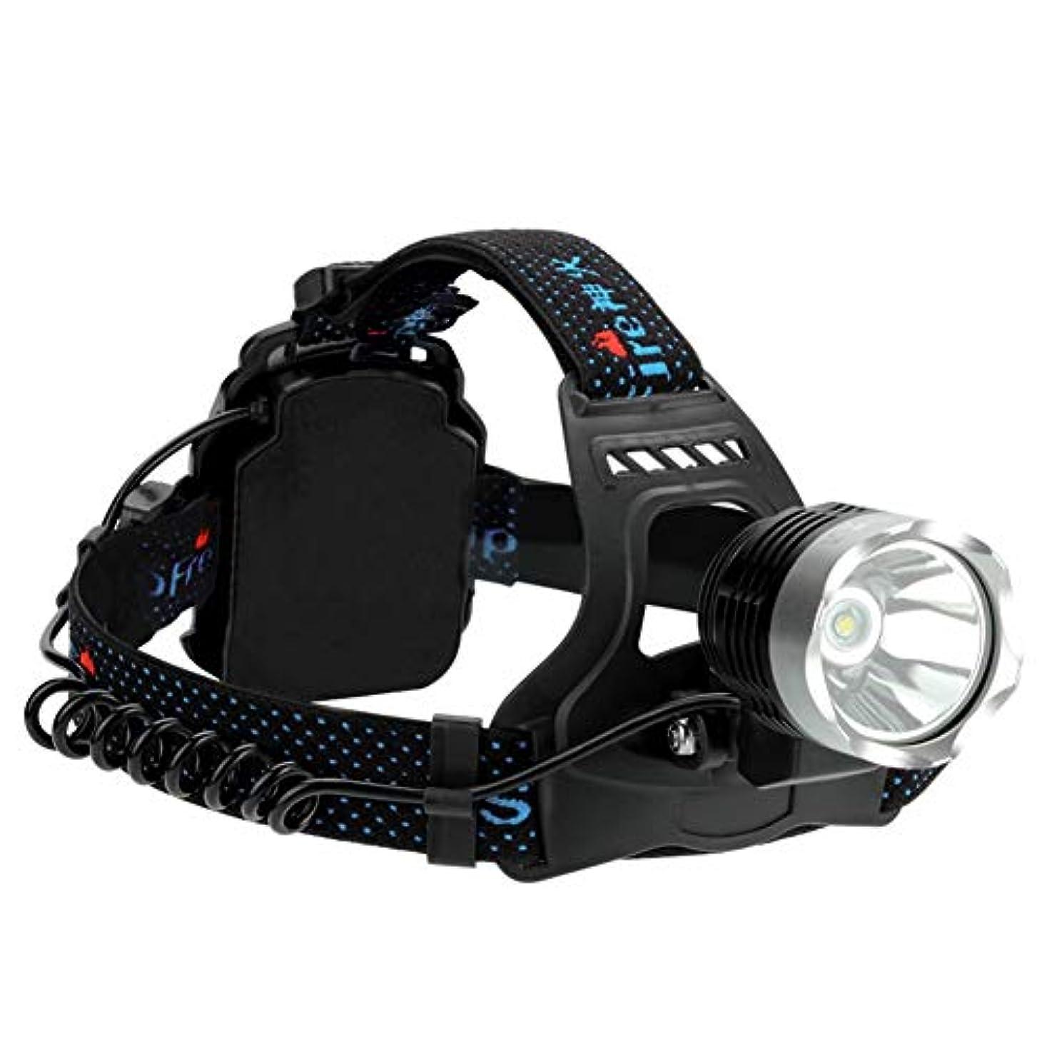 発信論文津波ヘッドライト,極度の明るく再充電可能な屋外の夜釣防水ヘッドライト