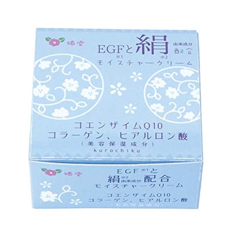 お肉立派なズームインする椿堂 絹モイスチャークリーム (FGFと絹) 京都くろちく