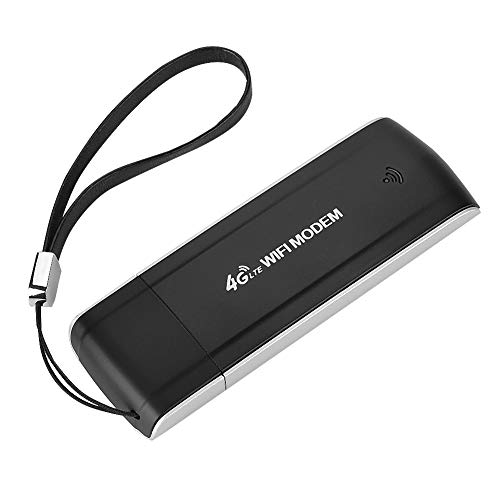 Fosa モバイルWi-Fiホットスポット SIMカードスロット サポートFDD B1 / B3 / B5 ポータブルUSBモバイルブロードバンドポケット 旅行USB WIFIアダプター受信機付き ワイヤレス4G LTEルーター 電源Wi-fiルーター