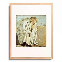 フェルディナント・ホドラー Ferdinand Hodler 「The Philosopher」 額装アート作品