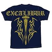 Fate  エクスカリバートライバル  Tシャツ  ネイビー:  サイズ  L