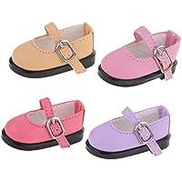 Lovoski 4個セット 人形 かわいい シューズ 靴 1/6スケール BJDドール適用