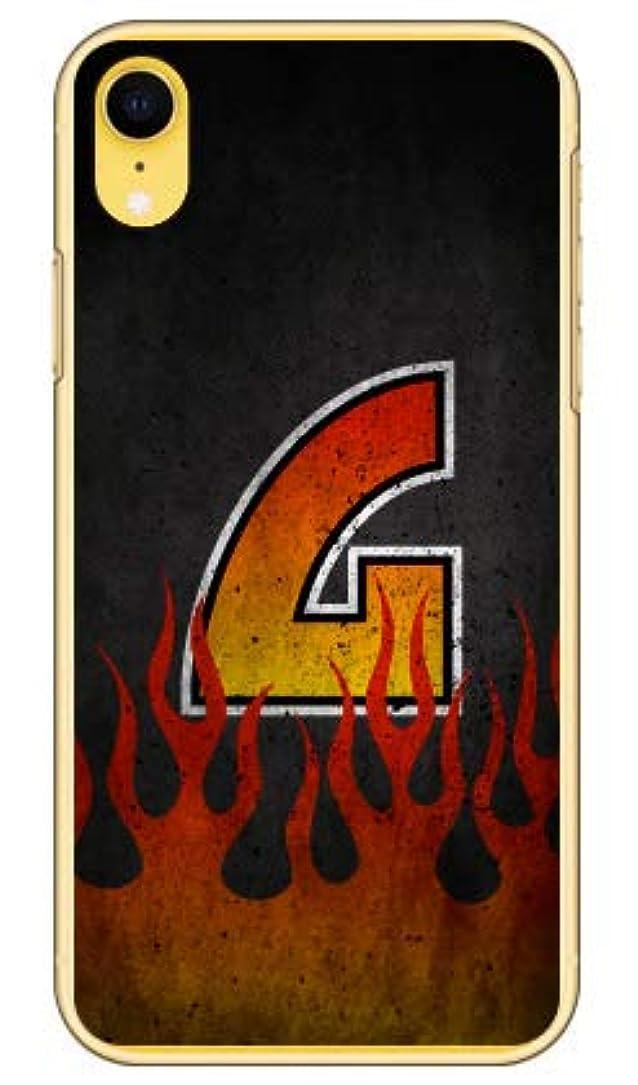 できる上向き表面[iPhone XR/Apple専用] Coverfull スマートフォンケース Cf LTD ファイア イニシャル G (クリア) 3APIXR-PCCL-152-MIV1