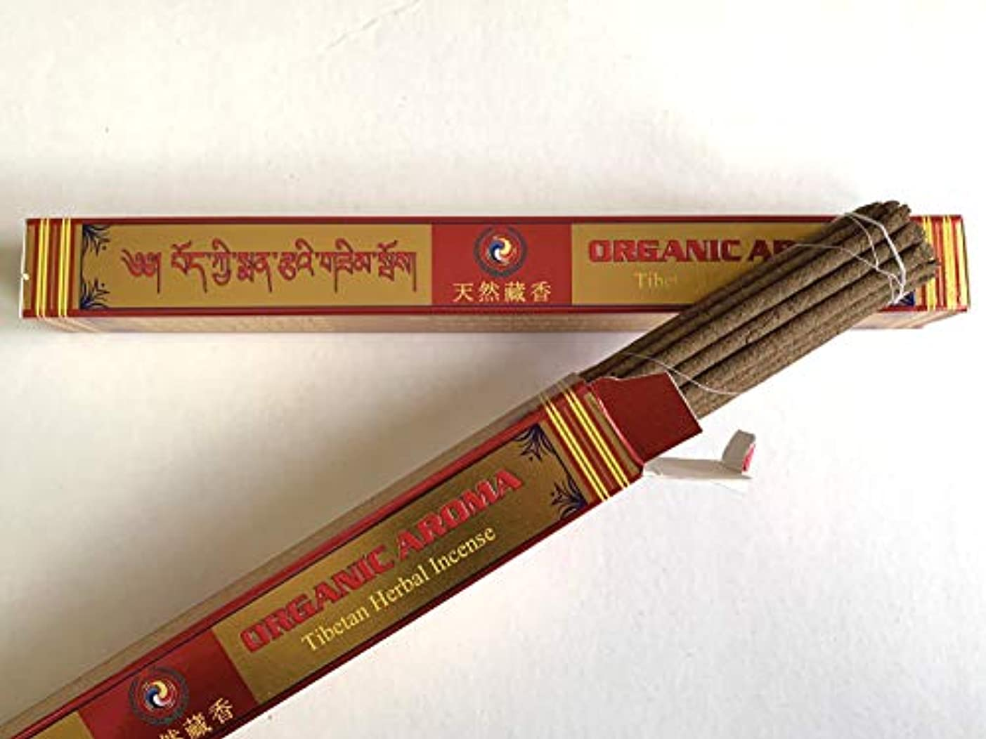 Bonpo Tsang Agarbathi Factory/オーガニックアロマ(天然藏香) ORGANIC AROMA 約25本入り