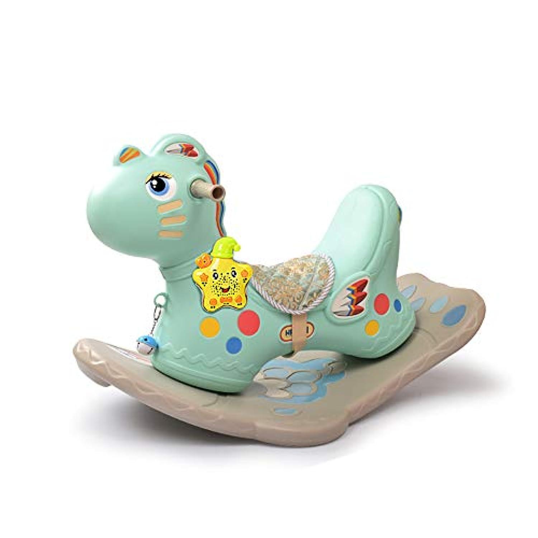 スイカゾン(Suicazon) 可愛い キッズ用 車輪付き 両用 木馬 ロッキングチェア 座れる 乗り物 乗用おもちゃ 誕生日 出産祝い 1~6歳 Pink