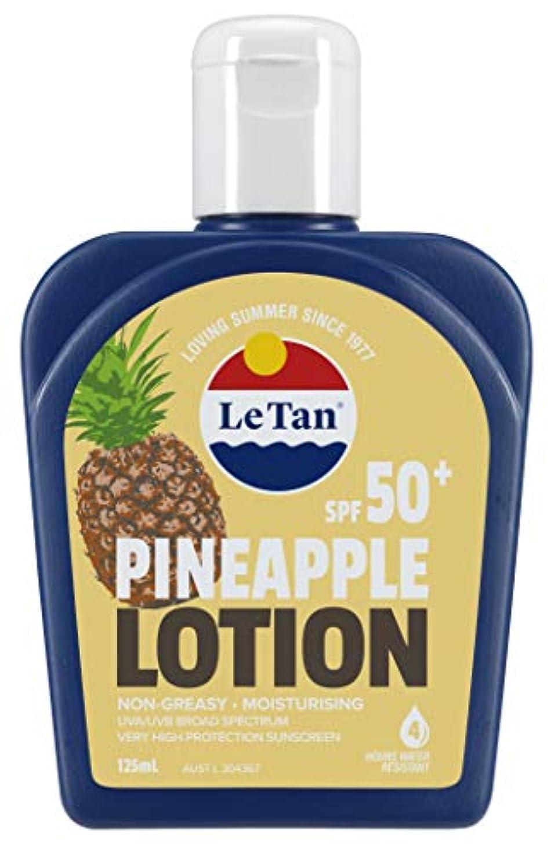 経験討論今Le Tan(ル タン) サンスクリーンローション パイナップル SPF50+ 日焼け止め 125mL