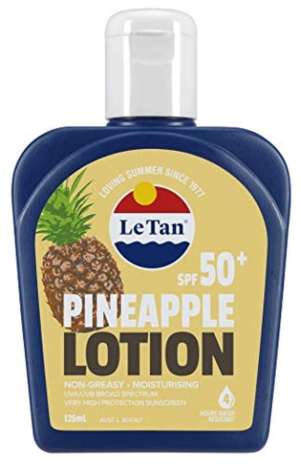 ブルできた木曜日Le Tan(ル タン) サンスクリーンローション パイナップル SPF50+ 日焼け止め 125mL