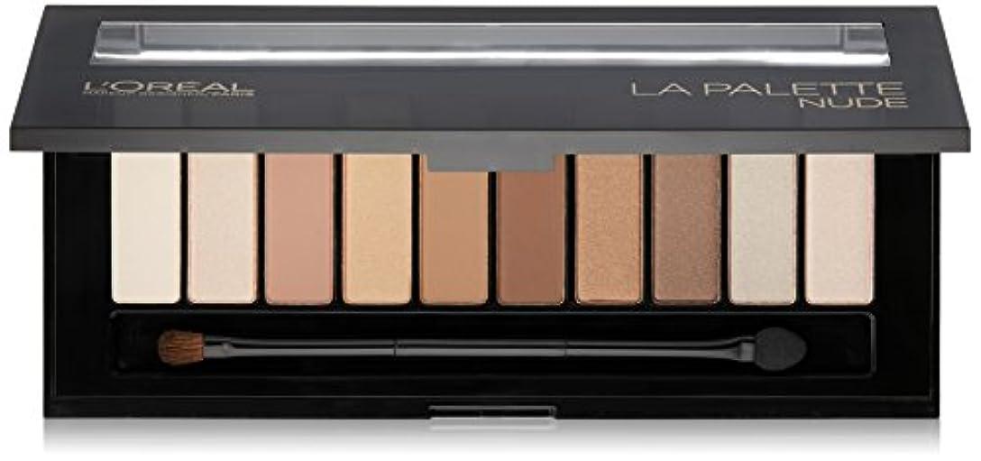 構造同化ソーセージL'OREAL Colour Riche La Palette Nude (並行輸入品)