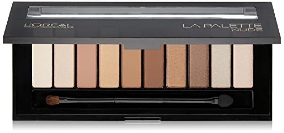モンゴメリー可聴ダイヤモンドL'OREAL Colour Riche La Palette Nude (並行輸入品)