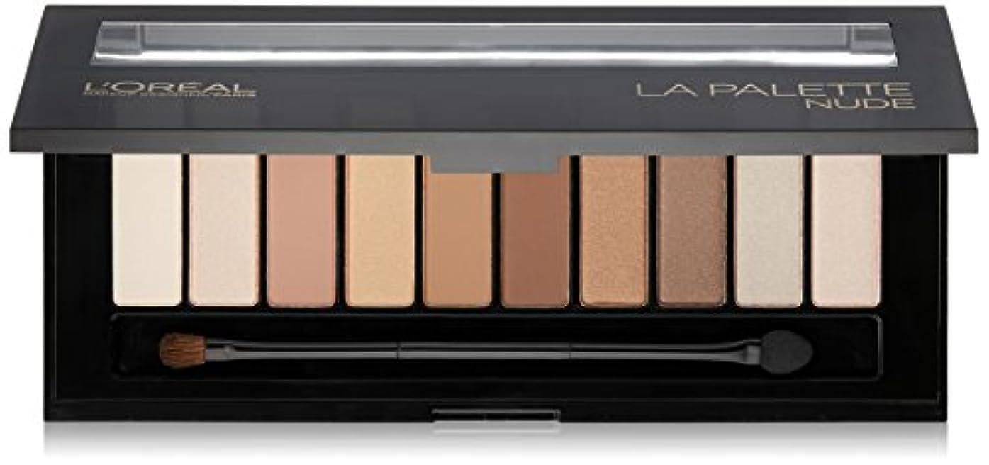収まる借りるグラスL'OREAL Colour Riche La Palette Nude (並行輸入品)