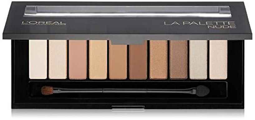 トランスペアレント縫い目毎週L'OREAL Colour Riche La Palette Nude (並行輸入品)