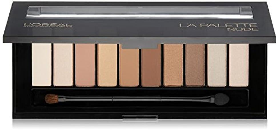 試み対角線争いL'OREAL Colour Riche La Palette Nude (並行輸入品)