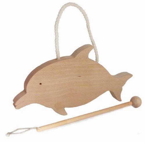 ●イルカの番木 カンカンいい音がします。インターフォンやネームプレートなどに使います。木育