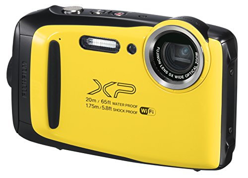 FUJIFILM 防水カメラ XP130 イエロー FX-XP130Y