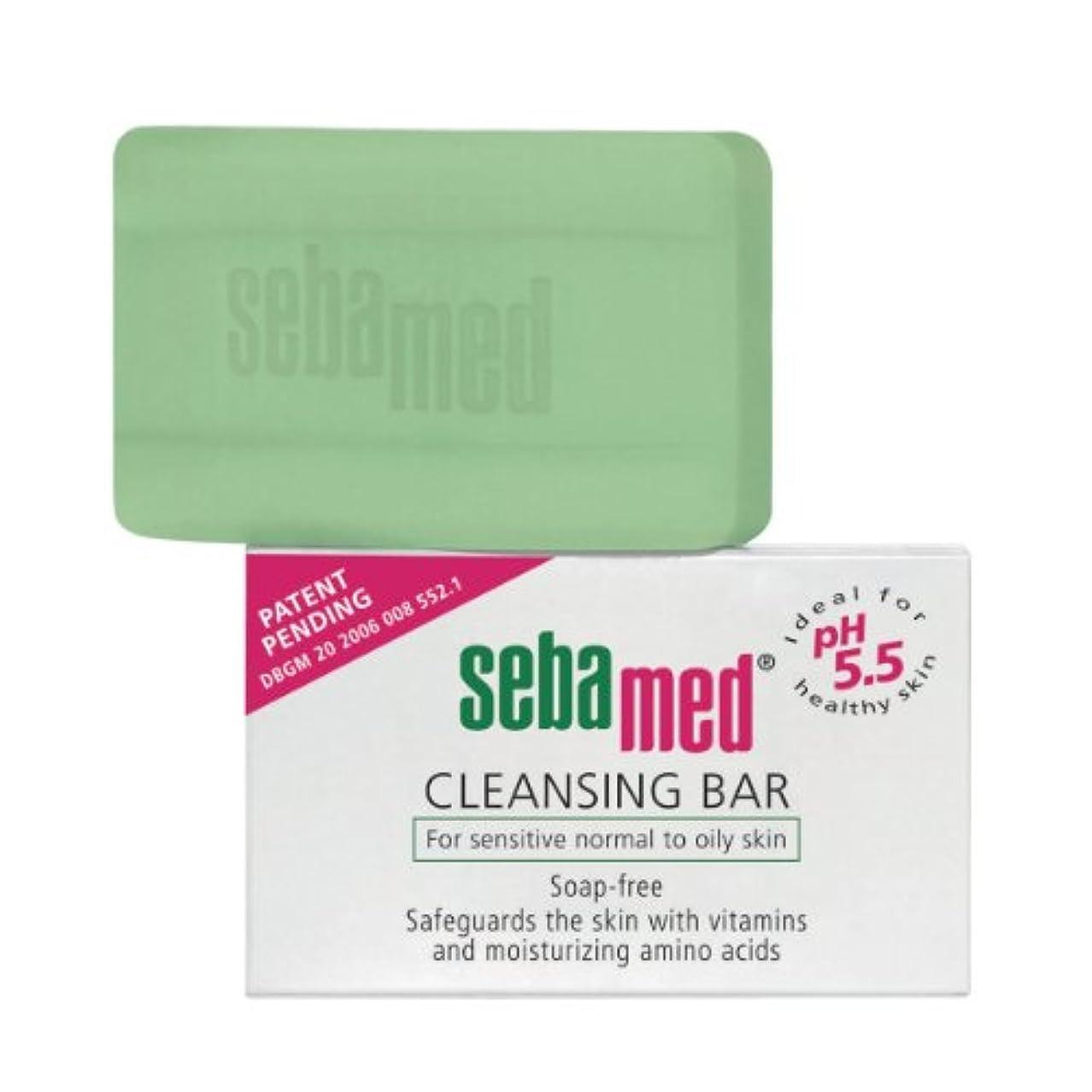 アクチュエータ塗抹くつろぎSebamed Cleansing Bar Sensitive Skin 150gr [並行輸入品]