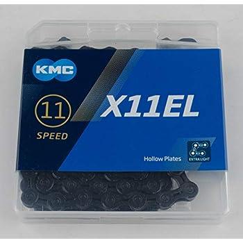 Bike-Chain-Shimano-Sram-NEW-Silver-Black 116L KMC-X11-11-Speed-Road-MTB
