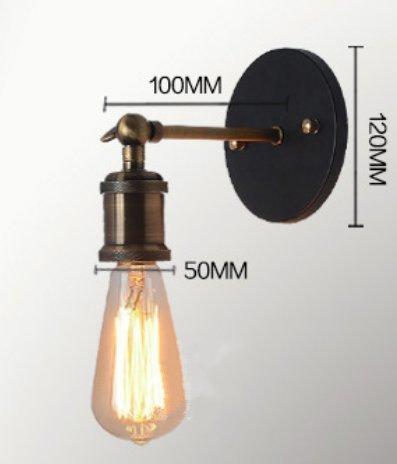 (ラ・デア) La dea ブラケットライト アンティーク調 壁掛け照明器具 間接照明 おしゃれ インテリア照明 北欧 E27口金 (コッパー)