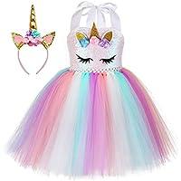 Little Rabbit Unicorn Tutu Dress, Unicorn Birthday Outfit, Unicorn Headband, Birthday Dress
