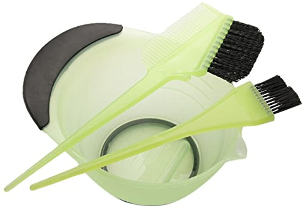 マウス千トイレDEEDS E-0002 プロ用 へアカラーセット グリーン