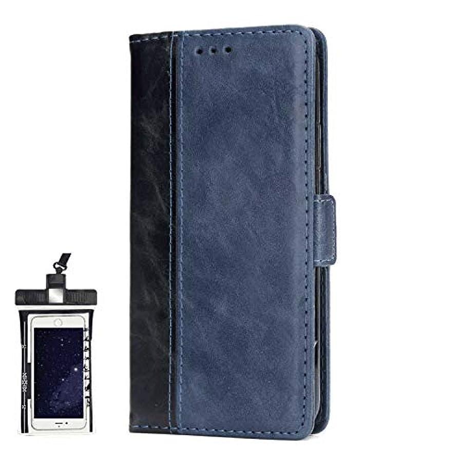 想像力豊かなとても多くの四半期全面保護 手帳型 Huawei Mate 20 ケース 本革 レザー スマホケース スマートフォン ポーチ 財布 カバー収納 保護ケース, 無料付防水ポーチケース