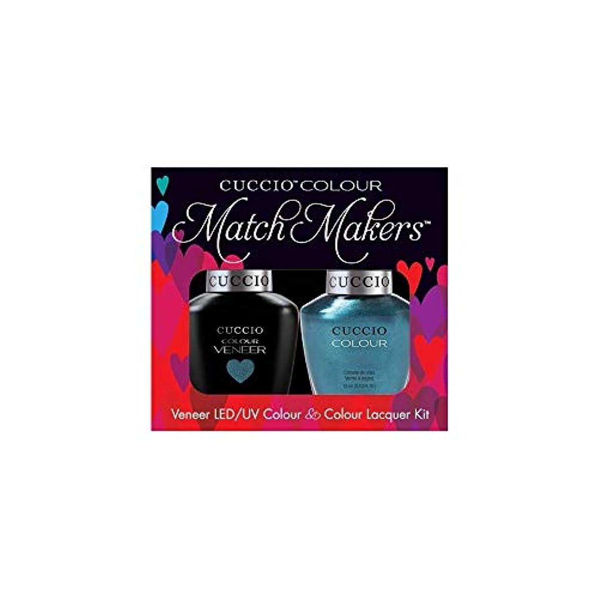 リットルビーチ継続中Cuccio MatchMakers Veneer & Lacquer - Dublin Emerald Isle - 0.43oz / 13ml Each