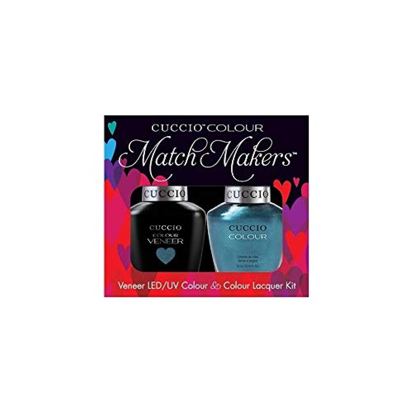 成分ひそかに挽くCuccio MatchMakers Veneer & Lacquer - Dublin Emerald Isle - 0.43oz / 13ml Each