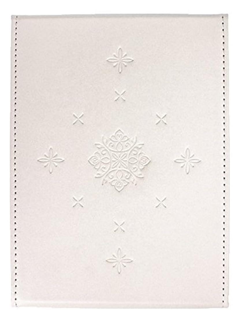 粋 折立ミラー ホワイト YSU-02