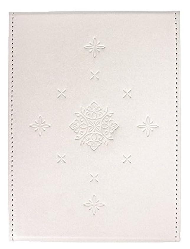 実行する霊喪粋 折立ミラー ホワイト YSU-02