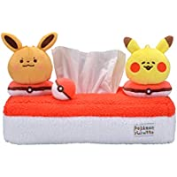 ポケモンセンターオリジナル ティッシュボックスカバー Pokémon Yurutto ピカチュウ&イーブイ
