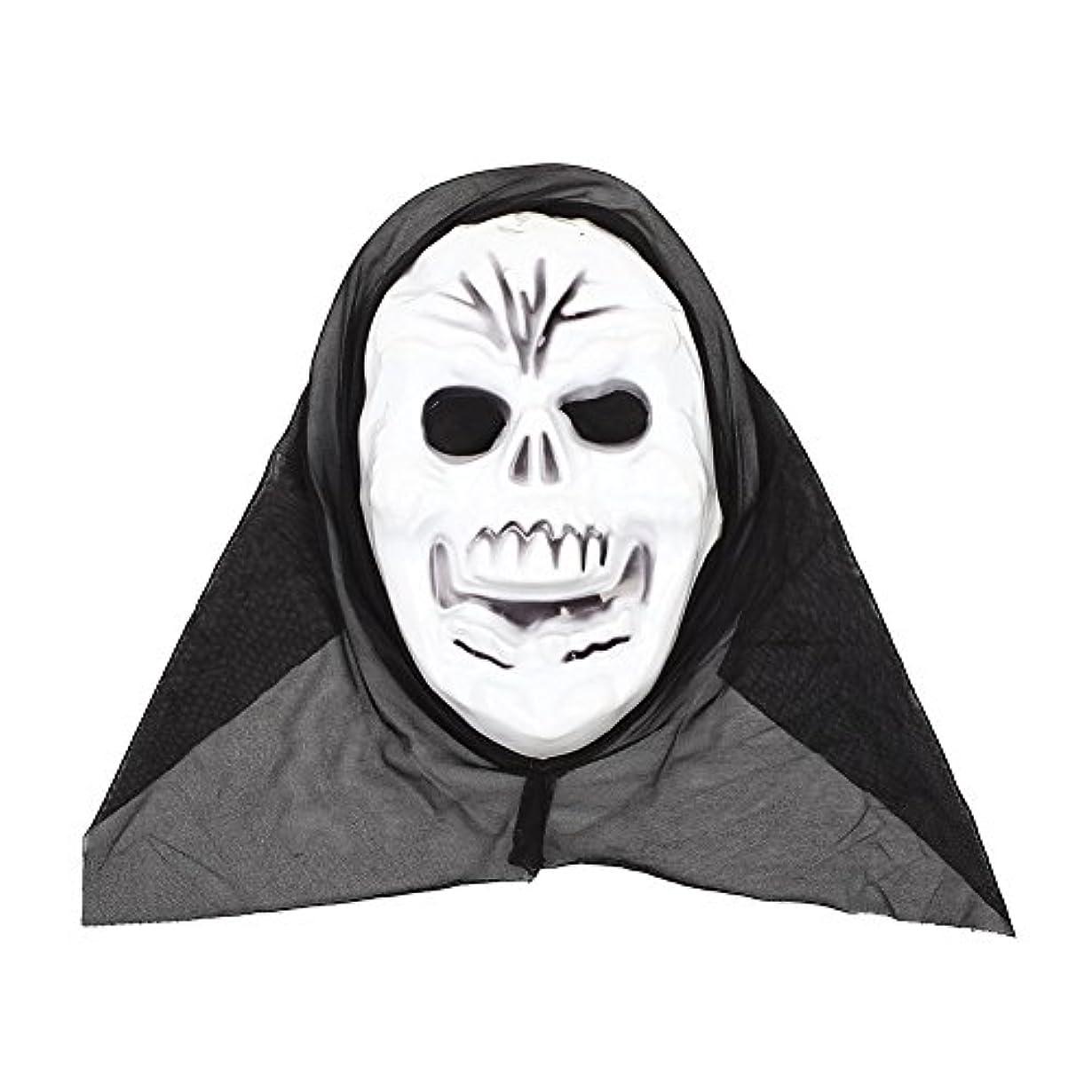 自己尊重やけど犯すAuntwhale ハロウィンマスク大人恐怖コスチューム、スクリームファンシーマスカレードパーティーハロウィンマスク、フェスティバル通気性ギフトヘッドマスク