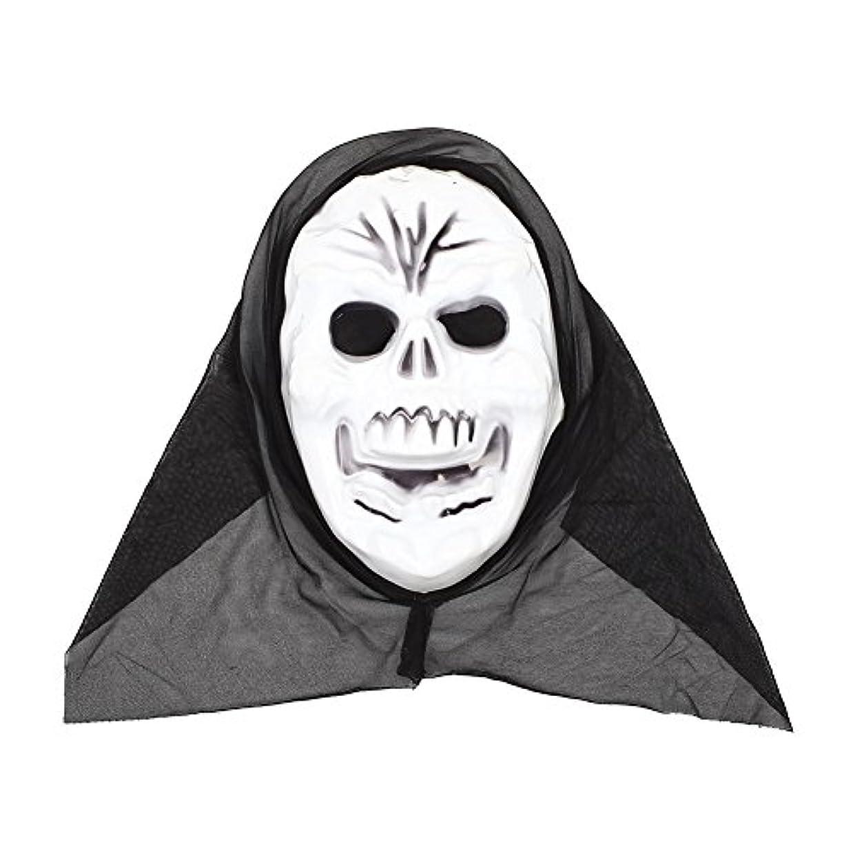 お香ソーシャル整理するAuntwhale ハロウィンマスク大人恐怖コスチューム、スクリームファンシーマスカレードパーティーハロウィンマスク、フェスティバル通気性ギフトヘッドマスク