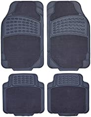 SupaTuff 447008G Exclusive Rubber Car Mat 4 Piece Set, Grey, Set of 4