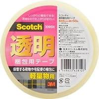 スリーエム スコッチ透明梱包用テープ309SN 309SN 00284886【まとめ買い10パックセット】